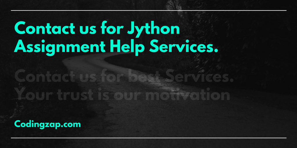 Jython Assignment Help