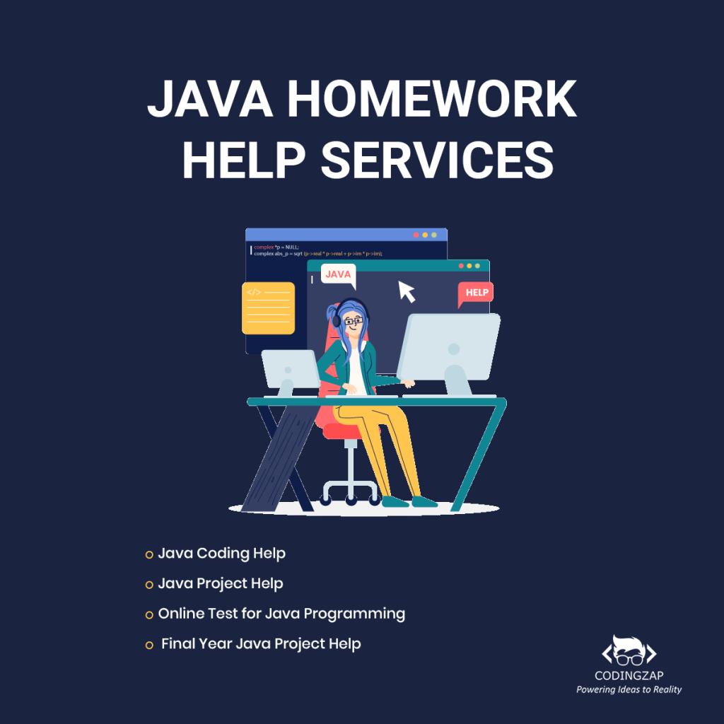 Java Homework Help Services