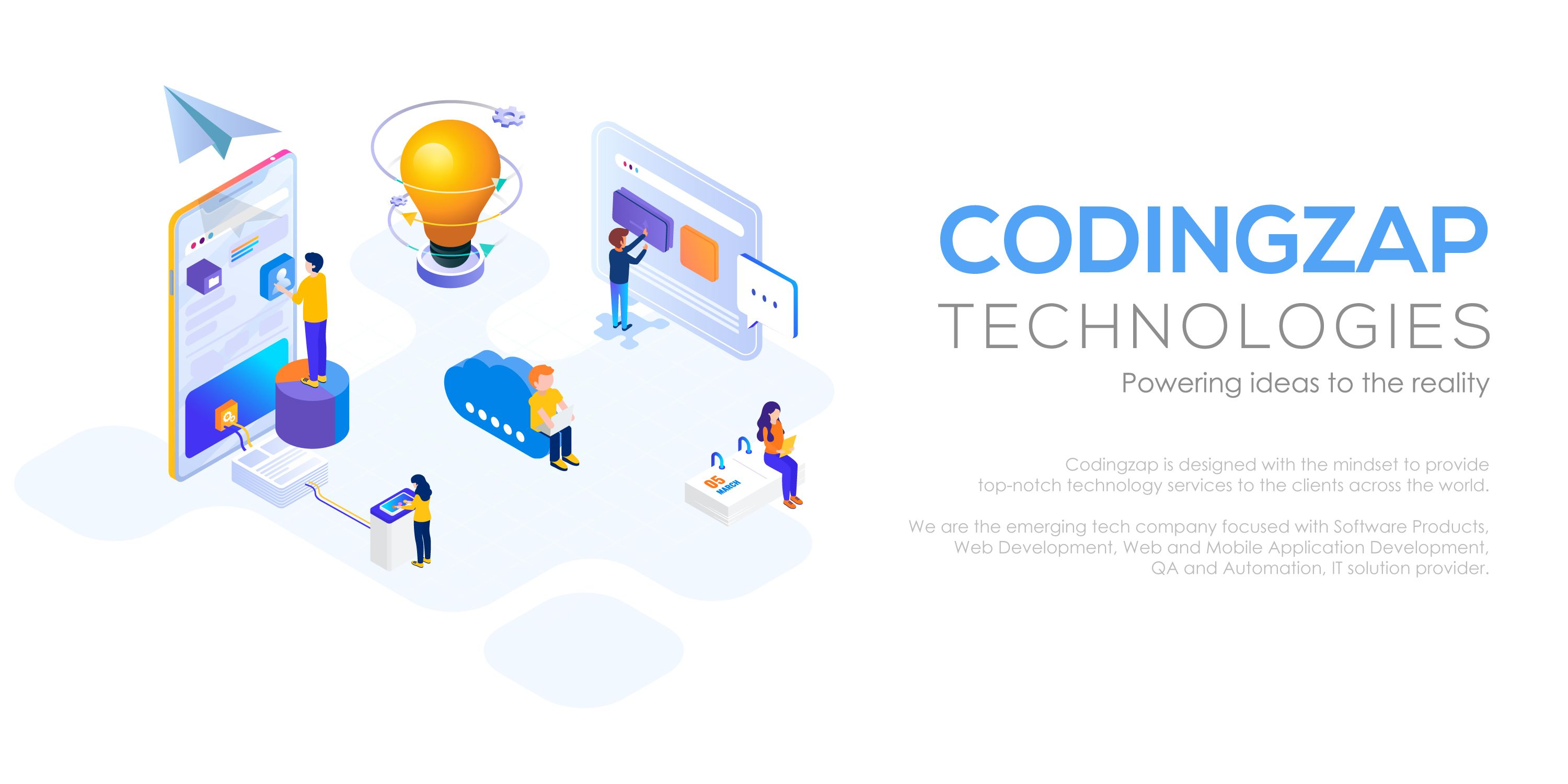 about codingzap.com - Our Company