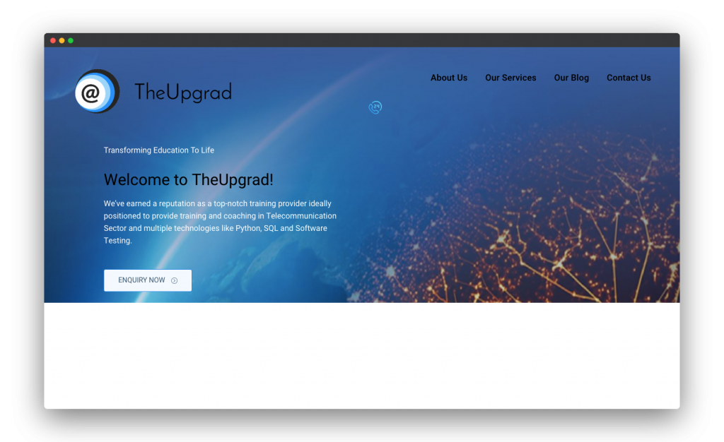 TheUpgrad - Our works
