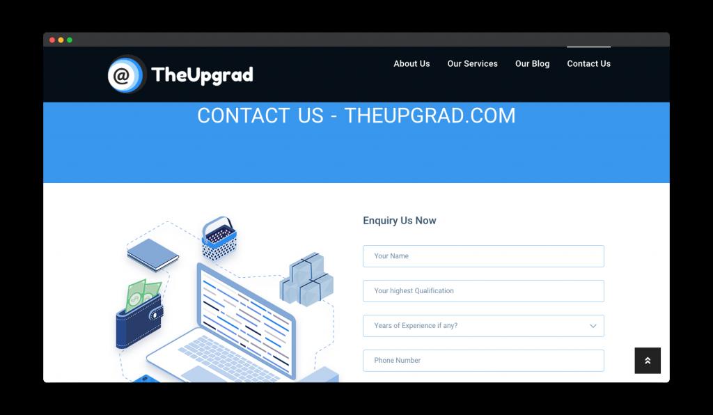 Portfolio- The Upgrad