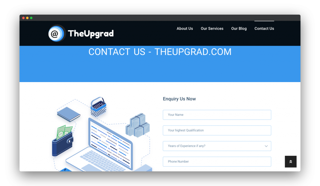 Portfolio- The Upgrad