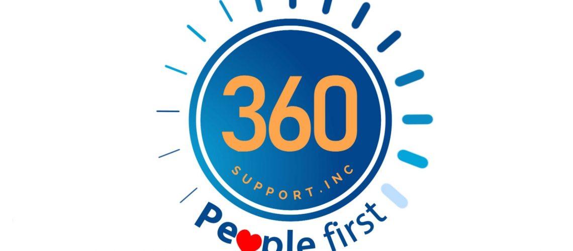 360 Support Logo Design