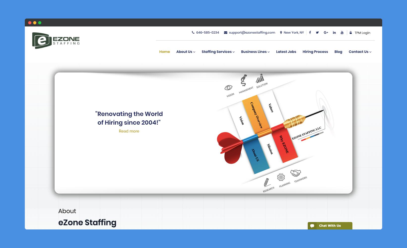 EZone Staffing Portfolio
