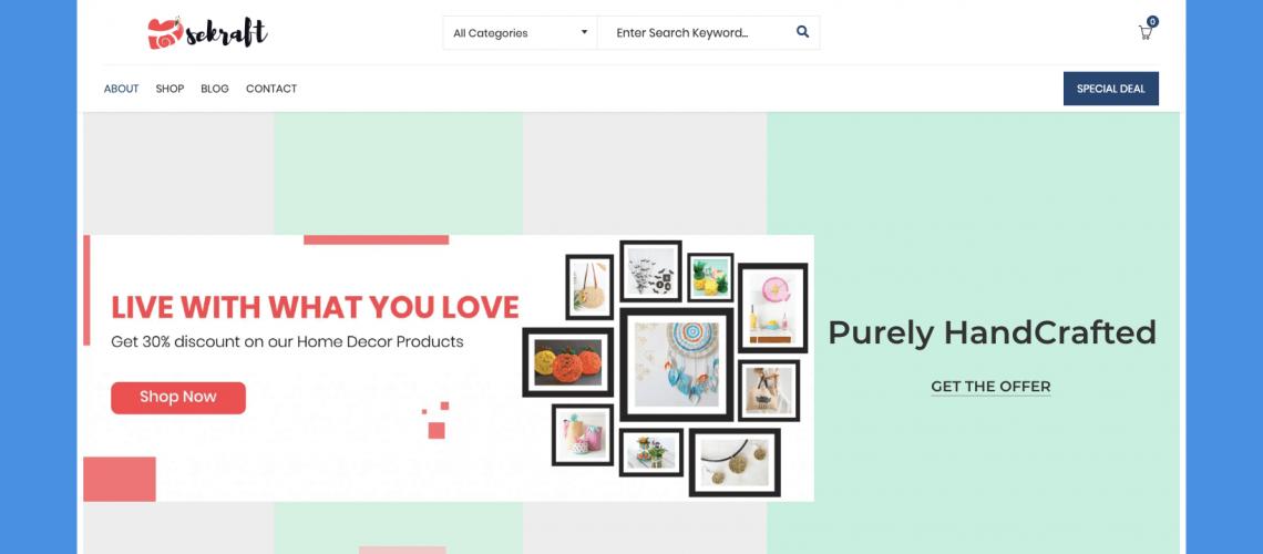 Dilsekraft   E-commerce Website
