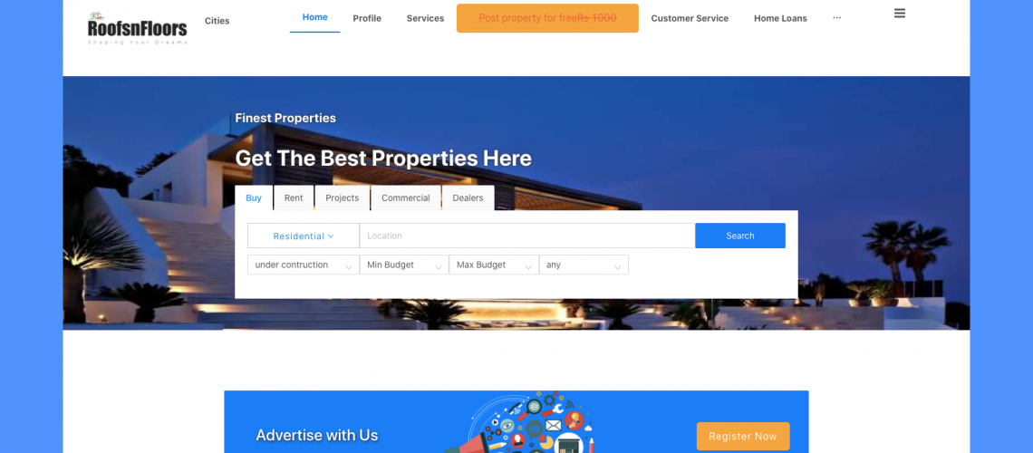 RoofsNFloors Web App Project